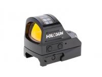 Коллиматорный прицел Holosun OpenELITE micro на Weaver/Picatinny, открытый, солнечная  батарейка, точка 2МОА, подсв12(+NV)