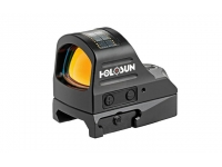 Коллиматорный прицел Holosun OpenReflex micro на Weaver/Picatinny, открытый,  солнечная  батарея, точка 2МОА, подсветка