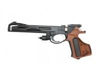 Пневматический пистолет МР-657-03 (PCP) 4,5 мм - вид слева