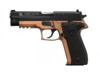 Травматический пистолет P226T TK-Pro 10x28 Graphit Black-H146 (Bronze)(цветное анодирование)