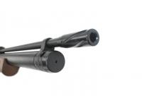 Пневматическая винтовка Kral Puncher maxi 3 орех 6,35 мм (модератор) дуло