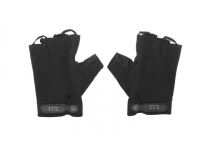 Перчатки без пальцев (черные)