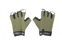 Перчатки без пальцев (олива)