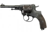 Оружие списанное охолощенное револьвер СХ-Наган по 1917 г. ИЖ-172. КОМ1 к.10ТК