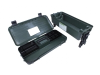 Ящик Remington для чистки и ухода за оружием (зеленый) - отделы