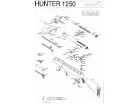 Пневматическая винтовка Gamo Hunter 1250 5,5 мм (переломка, дерево) взрыв-схема