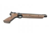 Пневматический пистолет Crosman P1377BR American Classic Brown 4,5 мм вид снизу