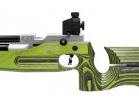 Пневматическая винтовка Walther LG400 Junior RE/LI Green Pepper 4,5 мм рукоять слева