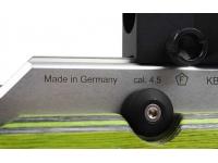 Пневматическая винтовка Walther LG400 Junior RE/LI Green Pepper 4,5 мм ствольная коробка сбоку