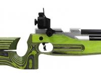 Пневматическая винтовка Walther LG400 Junior RE/LI Green Pepper 4,5 мм рукоять справа