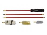Набор MegaLine для чистки гладкоствольного оружия 20 к. (блистер, 3 ерша, ст.шомпол с пласт.покрытием)