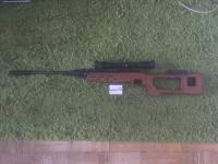 Пневматическая винтовка МР-512 до 7.5Дж,cal 4.5mm.
