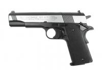 Пневматический пистолет Umarex Colt Government M1911 A1 Dark OPS (хром. с черн. пласт. накладками) 4,5 мм