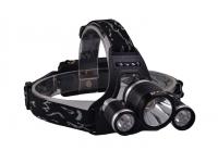 Фонарь налобный Headlamp Air-Gun 6000 lumens вид справа