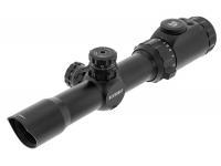 Оптический прицел Leapers Accushot T8 Tactical 1-8X28, 30 мм, грав.BG4, подсв.IE36, кронштейн ACCU-SYNC