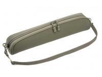 Чехол под оптику Vektor 36х9 см (нейлон с мягкой подкладкой и ремнем, зеленый)