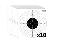 Мишень для пристрелки ружей 4 спортивная М4с (10 штук)