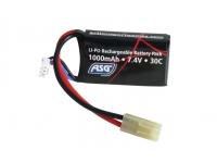 Аккумулятор ASG 7,4V 1000 mAh, LI-PO (17462)