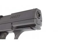 Пневматический пистолет Crosman PRO77 Kit (пули+очки+2баллончика) 4,5 мм дуло