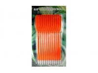 Дротики пластиковые для арбалета-пистолета МК-PL-O (оранж., 12 шт.,16 см.)