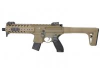 Пневматическая винтовка Sig Sauer MPX 4,5 мм (MPX-177-FDE) вид слева