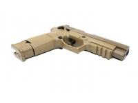 Пневматический пистолет Sig Sauer P320-M17 4,5 мм вид спереди