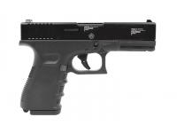 Оружие списанное охолощенное пистолет Glock 17 кал. 9 мм вид справа