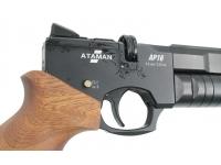 Пневматический пистолет Ataman AP16 стандарт дерево сапеле 5,5 мм (521/SB)  магазин