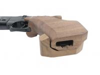 Пневматический пистолет Ataman AP16 стандарт дерево SP 5,5 мм (523/B) рукоять вид снизу