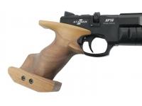 Пневматический пистолет Ataman AP16 стандарт дерево SP 5,5 мм (523/B) рукоять вид справа