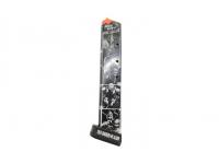 Магазин штурмовой Grand Power T12 (с пяткой +2 патрона) Sin City