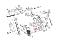 Рычаг разборки Sig Sauer P226T TK-Pro