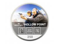 Пневматические пули Borner Hollow Point 5,5 мм 1,04 грамма (250 штук)