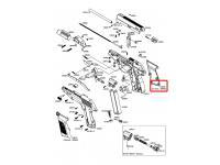 Накладка рукоятки Gamo P-23 (правая)