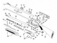 Кожух ствола Crosman AM77 (оцинкованный)