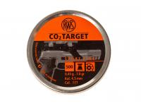 Пули пневматические RWS CO2 TARGET 4,5 мм 0,45 г (500 шт)
