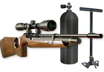 Накачка винтовок и баллонов РСР