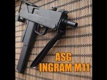 Пневматический пистолет-пулемет ASG Ingram M11 GNB 4,5 мм