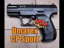 Umarex CP Sport - пистолет, который шокирует! Выдающиеся результаты!