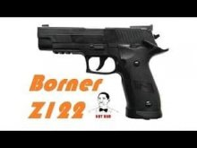 Пневматический пистолет Borner Z122 , самый лучший пистолет по КПД, ЖЕСТЬ! СМОТРЕТЬ ДО КОНЦА!!!