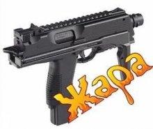 Пневматический пистолет-пулемет Gamo MP9 CO2 Tactical пулевой 4,5 мм