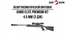 Пневматическая винтовка Gamo Elite Premium IGT 4,5 мм (3 Дж)