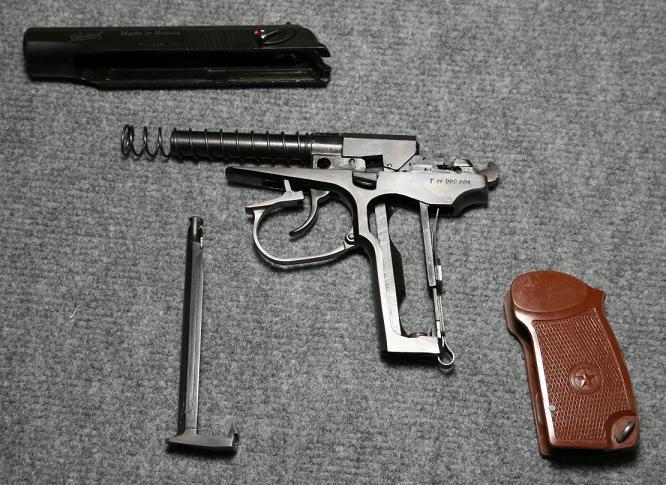 40)Разновидности пистолета МР-654к