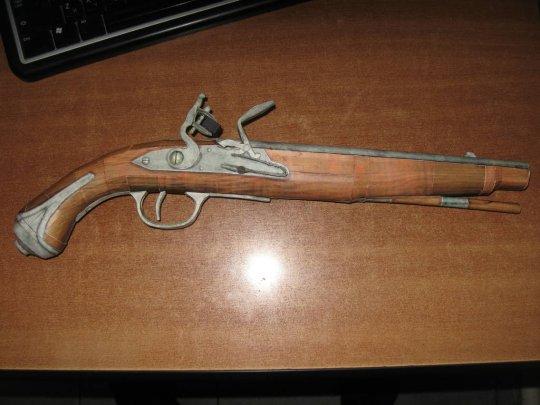 17)Бумажный пистолет