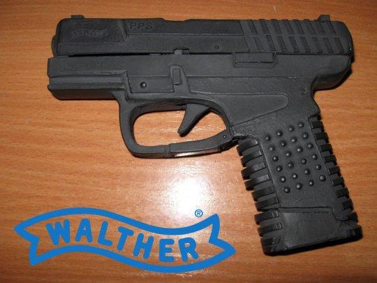 2)Бумажный пистолет