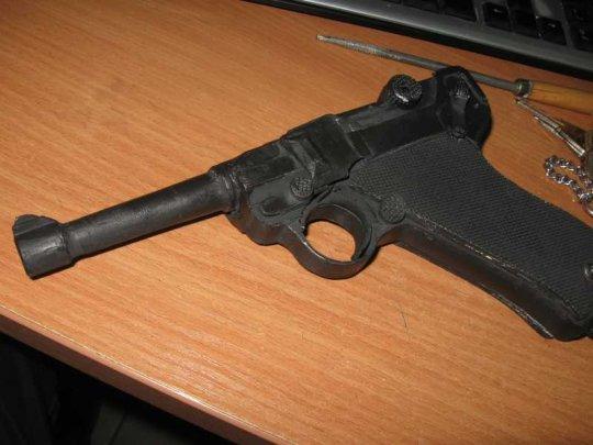 16)Бумажный пистолет