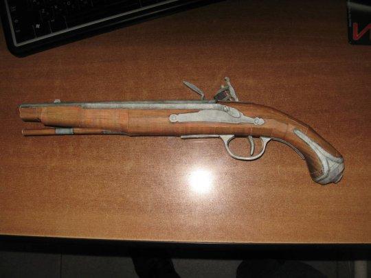 18)Бумажный пистолет