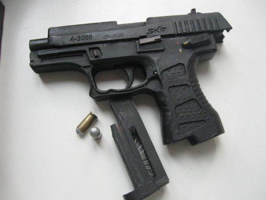 5)Бумажный пистолет