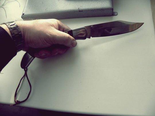 16)Нож С-124 Довод. Навахо по-китайски.