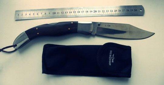 15)Нож С-124 Довод. Навахо по-китайски.